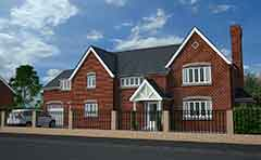 Render of house exterior